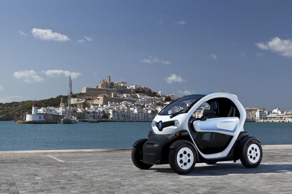 Coches eléctricos: Noruega / España - Renault Twizy