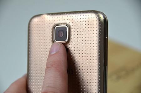 Pulsómetro en el Galaxy S5