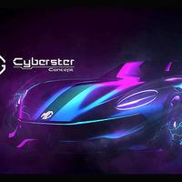 El MG Cyberster Concept podría ser el anticipo del nuevo roadster eléctrico de la marca