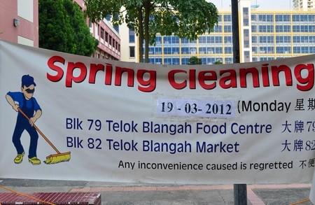 Limpieza general de primavera
