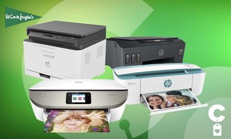Estas impresoras HP llevan un 15% de descuento en los Tecnoprecios de El Corte Inglés