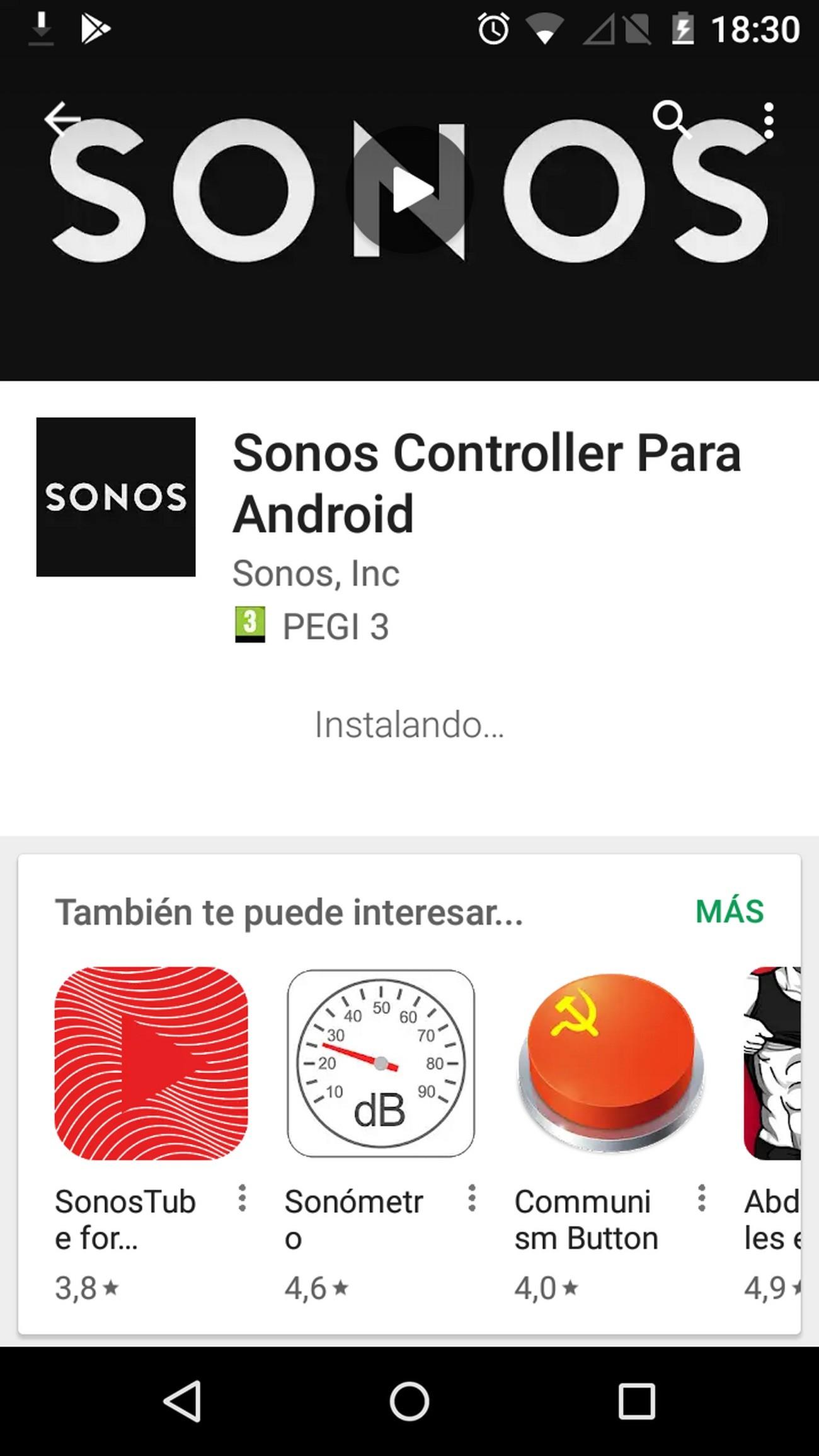 Foto de Sonos Beam instalacion (1/26)