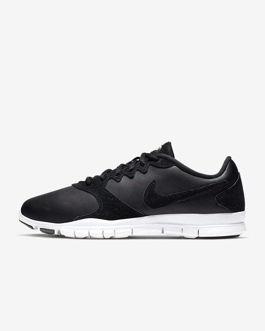 Zapatillas de cuero en blanco y negro