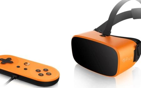 Estas gafas de realidad virtual parecen diseñadas por Nintendo: lo tienen todo en el mando
