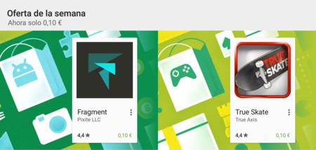 Ofertas de la semana en Google Play: Fragment y True Skate rebajados a 0,10 €
