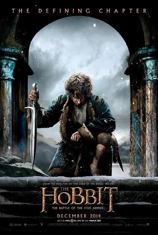 'El Hobbit: La batalla de los cinco ejércitos', primer tráiler y nuevo cartel