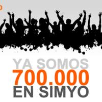 Simyo sigue con su fuerte ritmo de crecimiento, alcanzando los 700.000 clientes