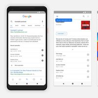 Ya puedes reproducir podcasts directamente desde una búsqueda en Google