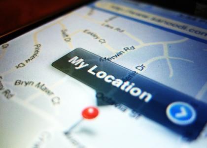 iPhone My Location