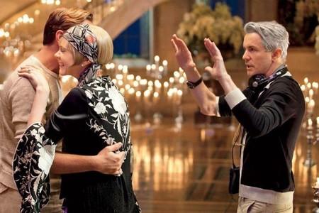 Baz Luhrmann en el set con DiCaprio y Mulligan
