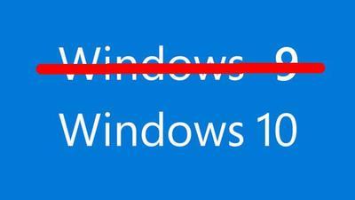 Microsoft consideró el nombre de Windows 9, pero lo descartó en pos de una mayor diferenciación