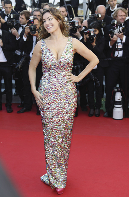 Kelly Brook cannes 2012