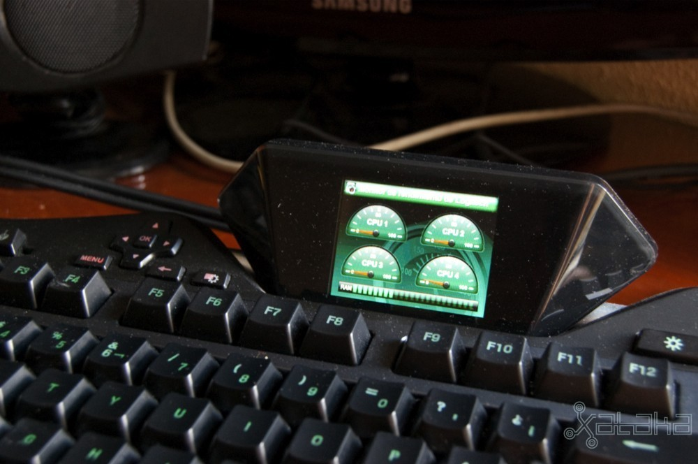 Logitech G19, videoanálisis