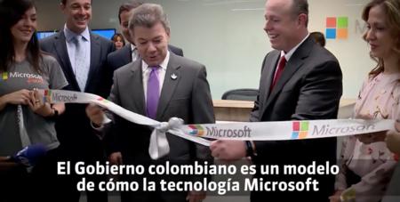El gobierno de Colombia y Microsoft llevarán internet a lugares apartados