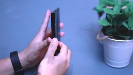 Huawei Mate X Sensor Huellas Lateral