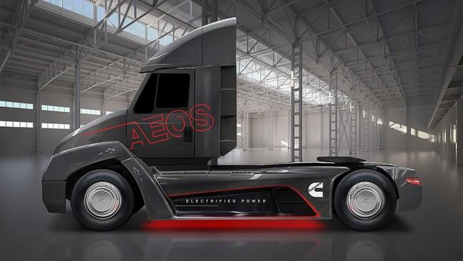 ¡Sorpresa! Cummins desvela un cosmopolita camión eléctrico que saldrá a la venta en 2019