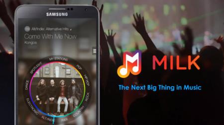 Samsung Milk Music, el nuevo servicio de música por internet para dispositivos Galaxy
