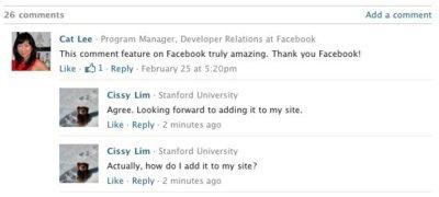 Facebook estrena su nueva plataforma de comentarios
