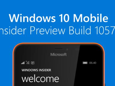 Ya está aquí la build 10572 de Windows 10 Mobile, que permite enviar SMS desde el PC