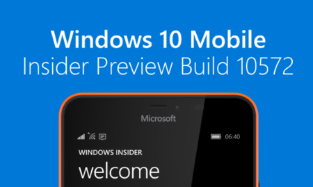 Ya está aquí la build 10572 de Windows 10 Mobile, que permite enviar SMS desde el PC