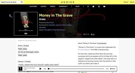Mensajes escondidos en las comillas: así es el ingenioso método con el que Genius intenta demostrar que Google plagia sus letras de canciones