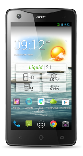 Acer Liquid S1 lateral