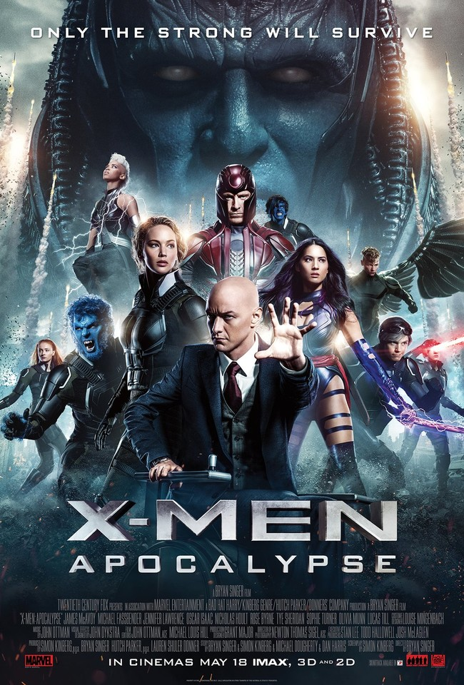 X Men Apocalipsis Oficial