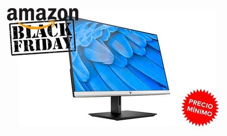 Aún estás a tiempo de hacerte con un monitor como el HP 24fh a su precio más bajo en Amazon, por sólo 99 euros