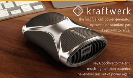 Kraftwerk, un pequeño generador que pretende ser una batería portátil para nuestros gadgets