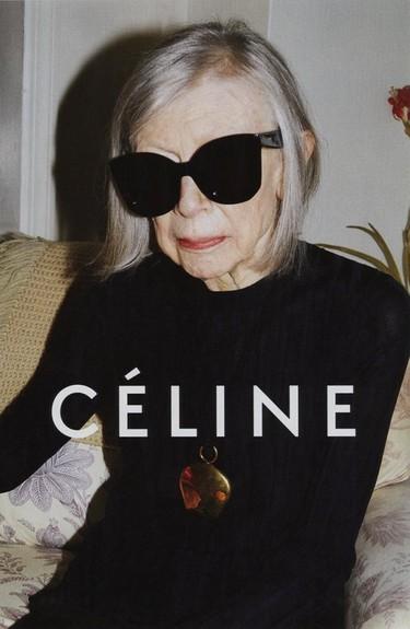 """Joan Didion nueva imagen de Céline, eso sí """"break the internet"""""""