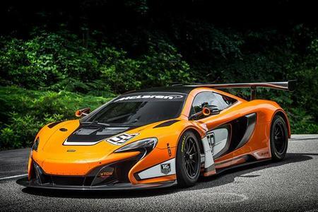 McLaren 650S GT3 - el nuevo racer de Woking