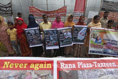 Protestas Rana Plaza Banglades