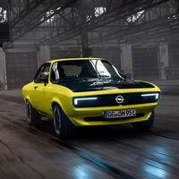 El Opel Manta GSe ElektroMOD es un clásico convertido en eléctrico, con caja manual y tracción trasera
