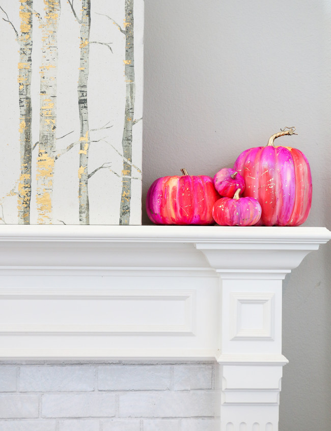 Make Your Own Alcohol Ink Pumpkins 7