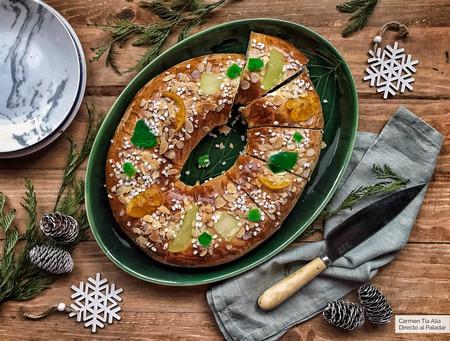 Roscón de Reyes de un solo levado: esta sí que es la receta más rápida y fácil (con vídeo incluido)