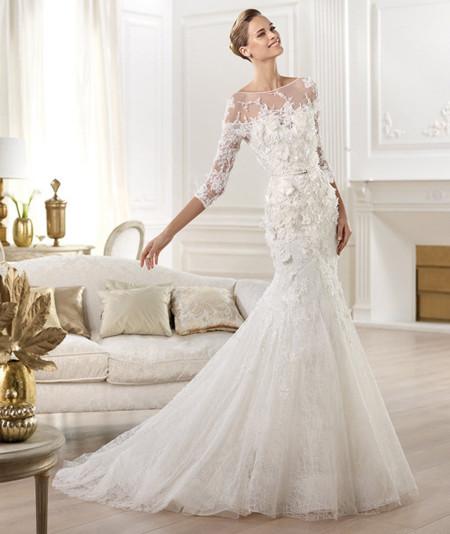 Pronovias Elie Saab moda novias 2014