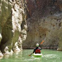 Piragüismo por el cañón del río La Venta en Chiapas