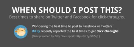 ¿Cuál es la mejorar hora para publicar contenidos en Facebook y Twitter? Infografía