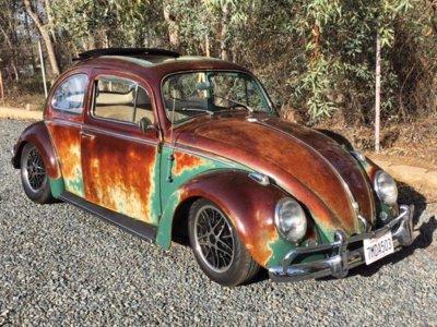 ¿20.000 dólares por este viejo Volkswagen Beetle? Ewan McGregor tiene algo que ver en el asunto