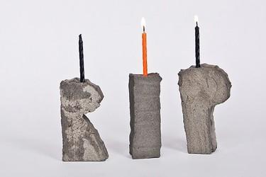 Hazlo tú mismo: portavelas de cemento para Halloween