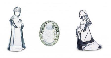 Un lujo de Navidad: las figuras de cristal del Belén según Baccarat, incluídos los Reyes Magos