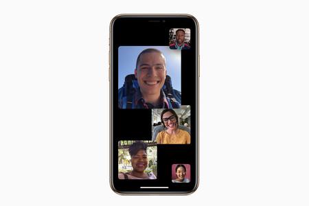 FaceTime en grupo
