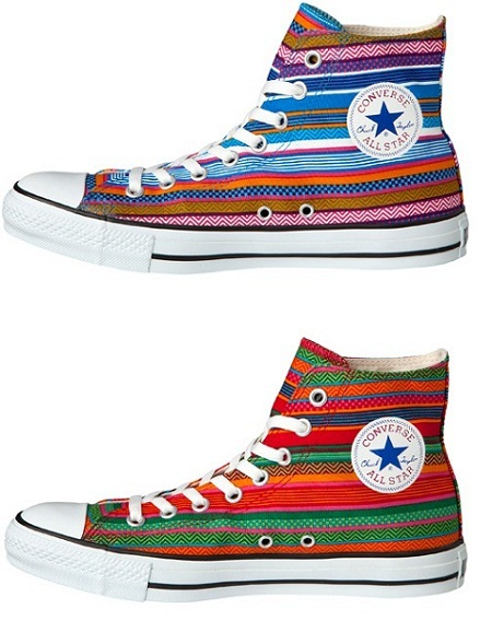 Zapatillas Converse Chuck Taylor All-Star Hi Huipil