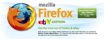 Mozilla Firefox edición eBay