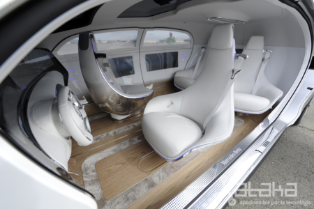 Mercedes Benz F015 Xataka Interior