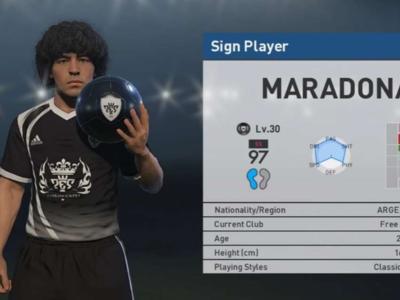 Diego Armando Maradona ha descubierto al Maradona de PES 2017 y tomará medidas legales contra Konami