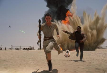 Imagen del Episodio VII de Star Wars