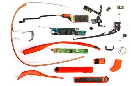 Un estudio indica que el coste de los materiales de Google Glass es de apenas 80 dólares