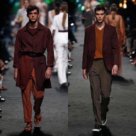 Pedro Del Hierro Apuesta Por El Desenfado Sartorial Para Su Coleccion En La Semana De La Moda De Madrid 2