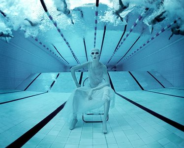 Fotografía acuática, onírica creatividad bajo el agua